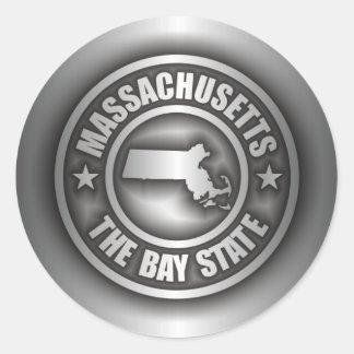 """""""Massachusetts Steel"""" Stickers"""