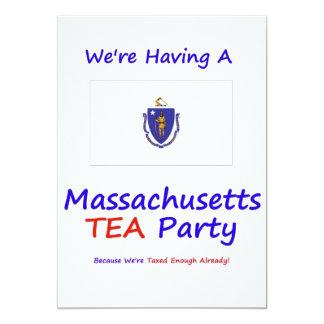 MASSACHUSETTS T.E.A. PARTY INVITATIONS