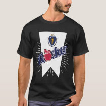 Massachusetts Teacher Gift - MA Teaching Home T-Shirt
