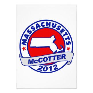 Massachusetts Thad McCotter Custom Invites