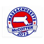 Massachusetts Thad McCotter Postcards