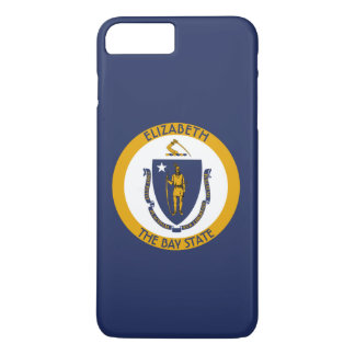 Massachusetts The Bay State Personalized Flag iPhone 8 Plus/7 Plus Case