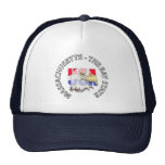 Massachusetts The Bay State USA Hat