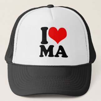 Massachusetts Trucker Hat