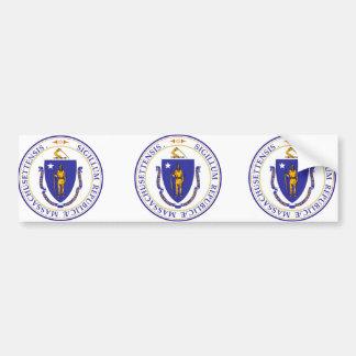 Massachusetts, USA Car Bumper Sticker