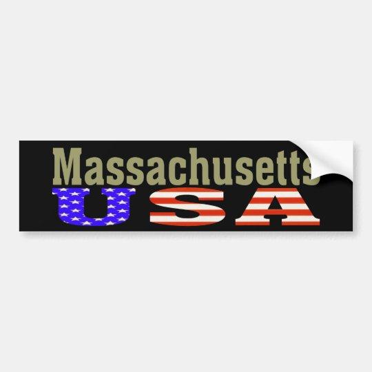 Massachusetts USA! Bumper Sticker