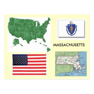Massachusetts, USA Postcard