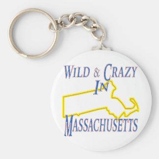 Massachusetts - Wild and Crazy Keychains