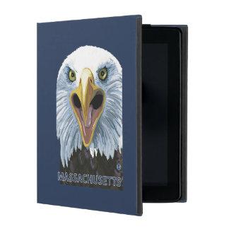 MassachusettsEagle Up Close iPad Folio Case