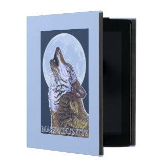MassachusettsHowling Wolf iPad Case
