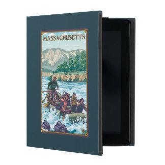 MassachusettsRiver Rafting Scene iPad Cover