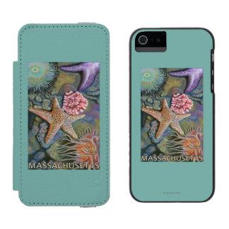 MassachusettsTidepool Scene Incipio Watson™ iPhone 5 Wallet Case