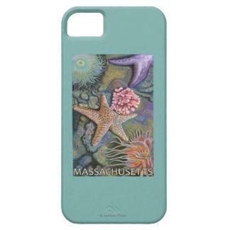 MassachusettsTidepool Scene iPhone 5 Case