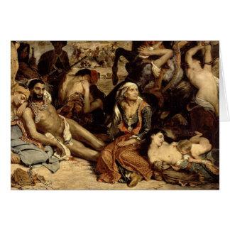 Massacre at Chios Card