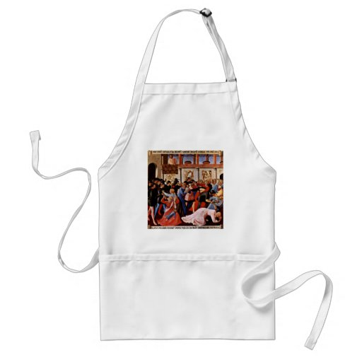 Massacre Of The Innocents By Angelico Fra Apron