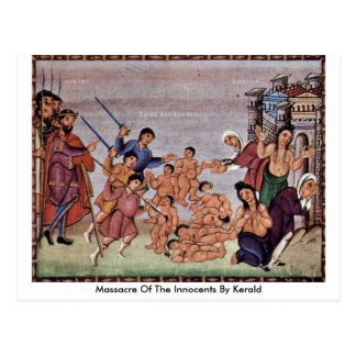 Massacre Of The Innocents By Kerald Postcard