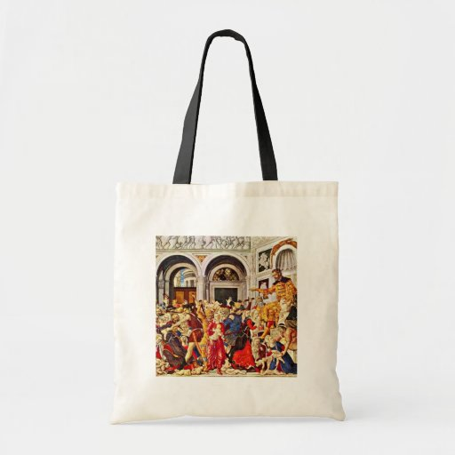 Massacre Of The Innocents, By Matteo Di Giovanni ( Tote Bags