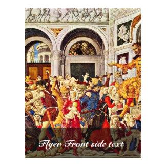 Massacre Of The Innocents, By Matteo Di Giovanni ( Flyer Design