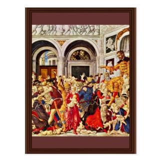 Massacre Of The Innocents, By Matteo Di Giovanni ( Postcard