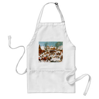 Massacre of the Innocents by Pieter Bruegel Adult Apron