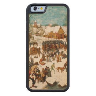 Massacre of the Innocents by Pieter Bruegel Carved Maple iPhone 6 Bumper Case