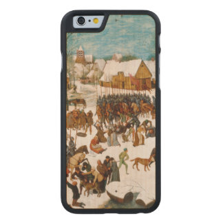 Massacre of the Innocents by Pieter Bruegel Carved Maple iPhone 6 Case