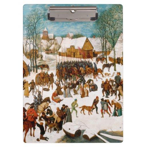 Massacre of the Innocents by Pieter Bruegel Clipboards