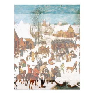Massacre of the Innocents by Pieter Bruegel Flyers