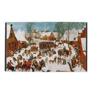 Massacre of the Innocents by Pieter Bruegel iPad Cover