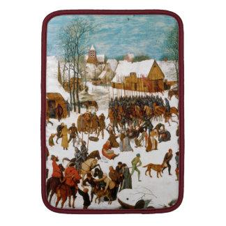 Massacre of the Innocents by Pieter Bruegel Sleeve For MacBook Air