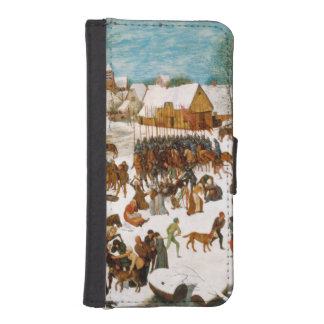 Massacre of the Innocents by Pieter Bruegel iPhone SE/5/5s Wallet