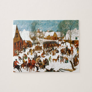 Massacre of the Innocents by Pieter Bruegel Jigsaw Puzzle