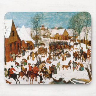 Massacre of the Innocents by Pieter Bruegel Mouse Pad