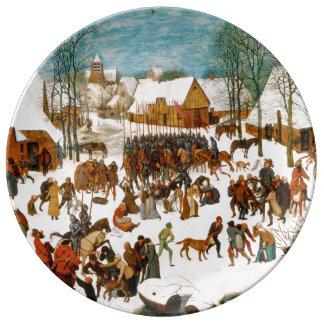 Massacre of the Innocents by Pieter Bruegel Plate