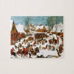 Massacre of the Innocents by Pieter Bruegel Jigsaw Puzzle