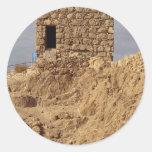 Massada, Israel Pegatina Redonda