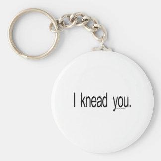 Massage - I knead you Keychain