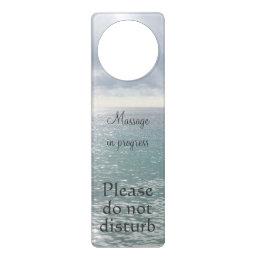 Massage in progress do not disturb sea door hanger