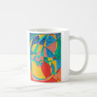 MASSAGE painted in abstract word art, text art Coffee Mug