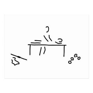 massage physiotherapeut ill gymnastic postcard