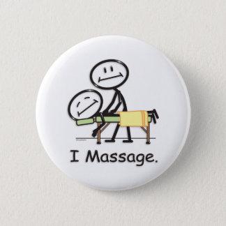 Massage Pinback Button