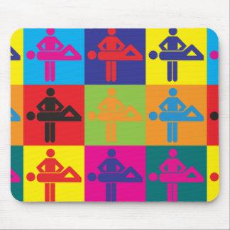 Massage Pop Art Mouse Pad