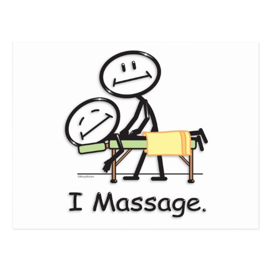 Massage Postcard