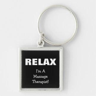 Massage Relax (customizable) Key Chains