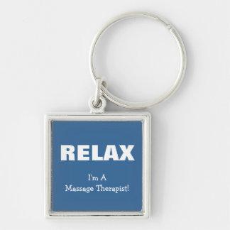 Massage Relax (customizable) Key Chain