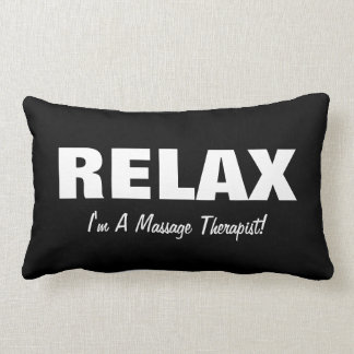 Massage Relax (customizable) Lumbar Pillow