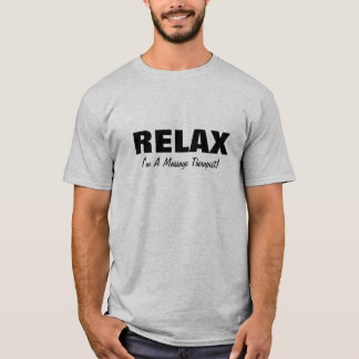 Massage Relax (customizable) T-Shirt