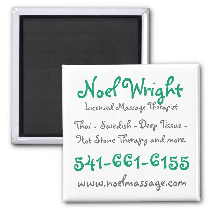 Massage Reminder Magnet