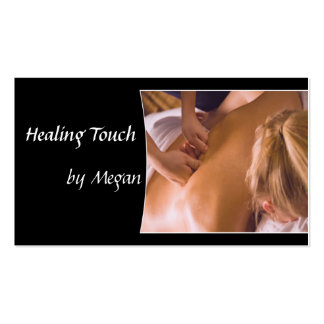 Massage Spa Business Cards