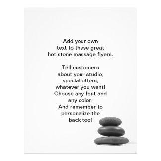 Massage Stones Photo Flyer